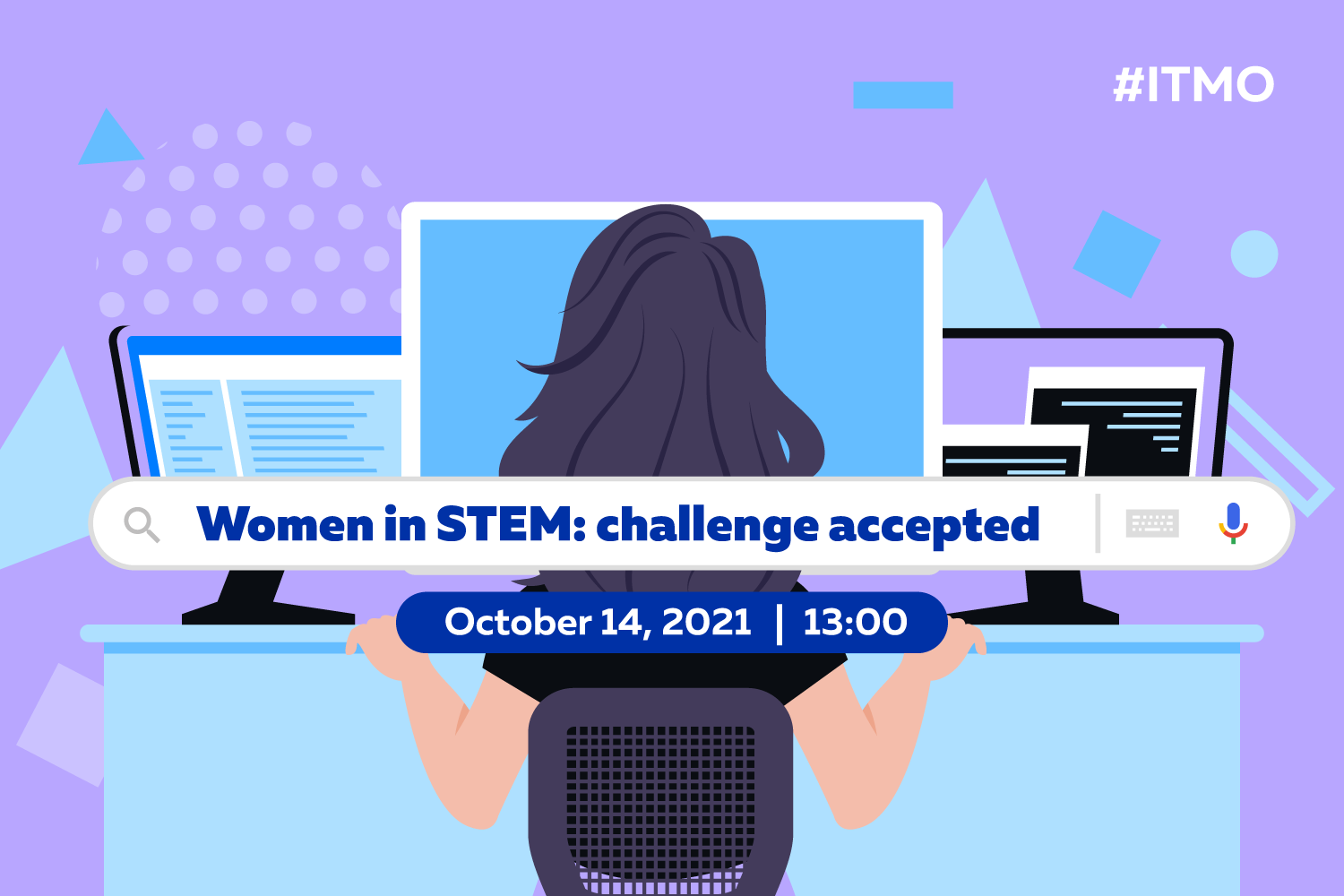 Online discussion – Women in STEM: challenge accepted