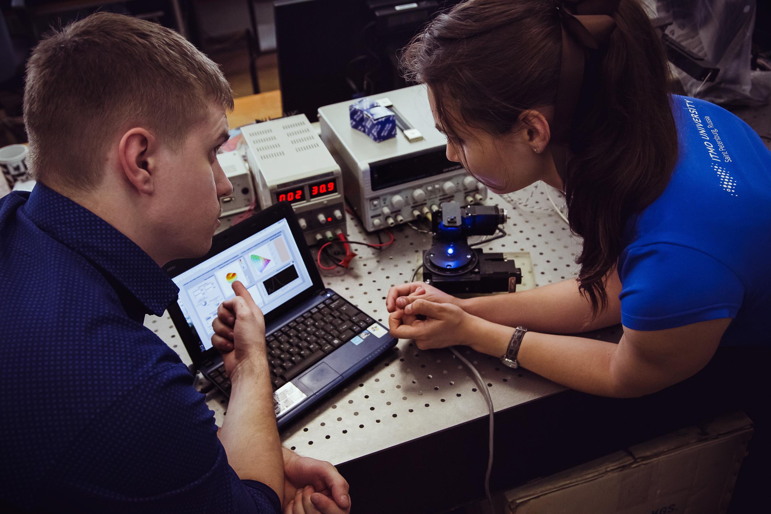 Аппаратно-программный комплекс контроля излучающих диодов