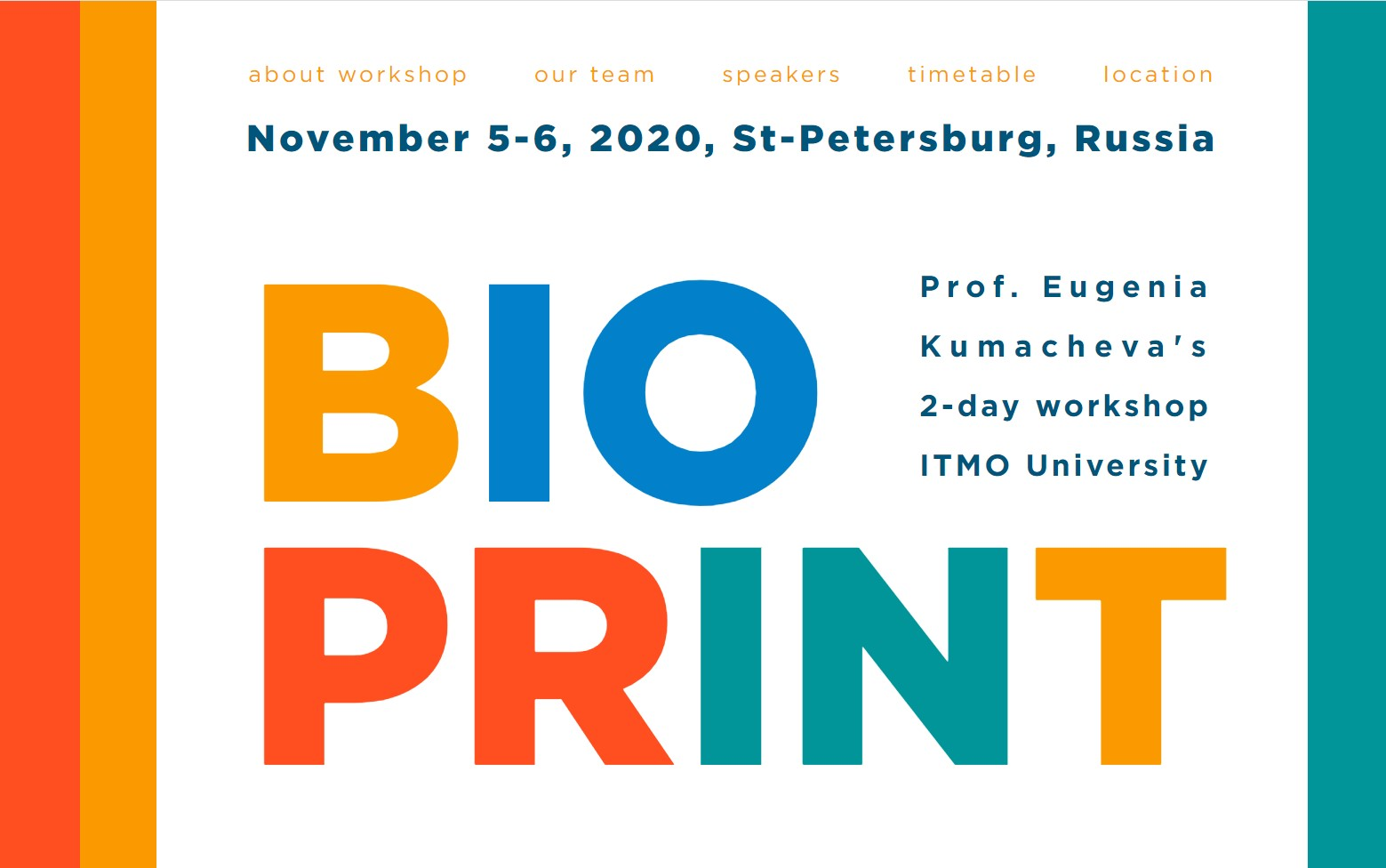 BioPrint Workshop