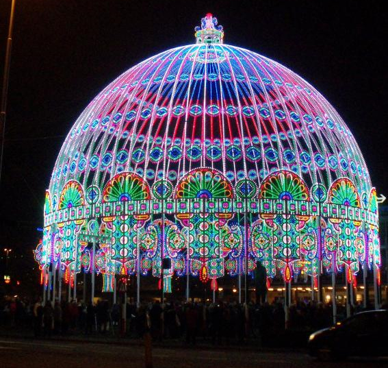 International Light Installations Competition 'Night of Light in Gatchina'
