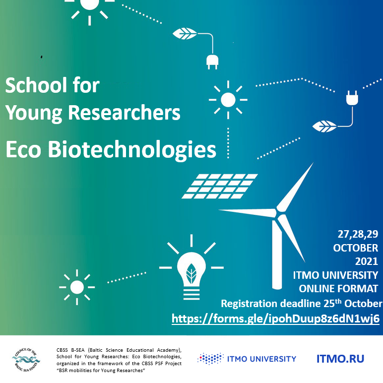 Eco Biotechnologies School for Young Researchers